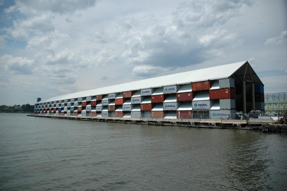 bảo tàng nghệ thuật bằng container