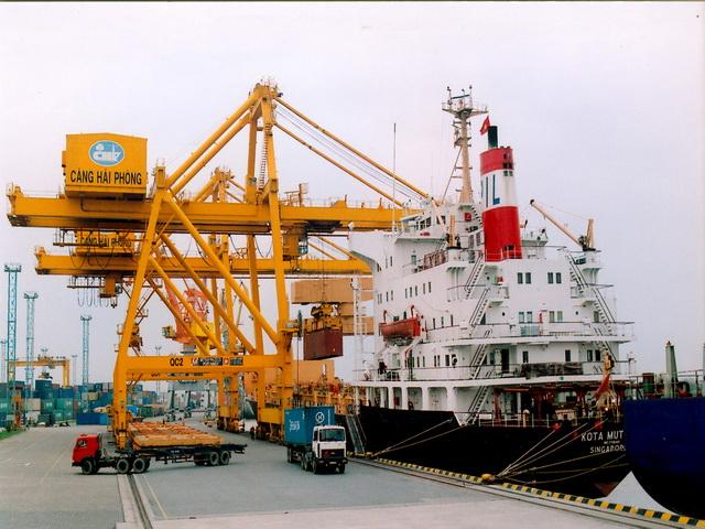 cầu cảng hải phòng