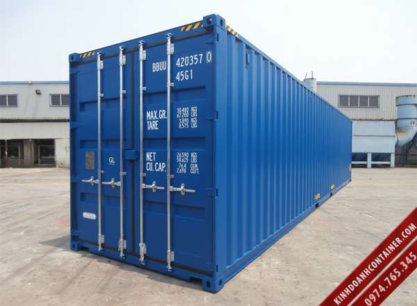container khô 40 feet mới
