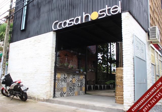 khách sạn container Ccasa Hotel - thành phố Nha Trang