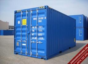 container khô 20 feet mới
