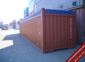 container khô 40 feet mở nóc