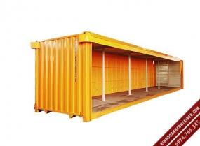 container khô 40 feet chở bia