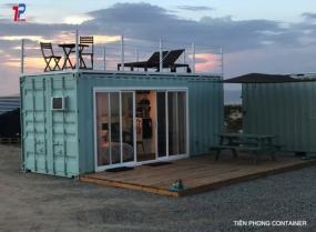 nhà ở container 20feet mẫu 004s